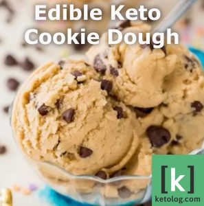 edible keto cookie dough