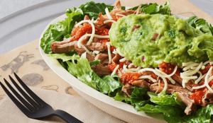 chipotle keto bowl salad