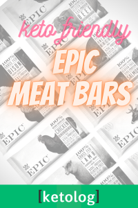 epic meat bars keto