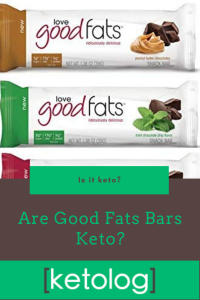 good fats bar keto